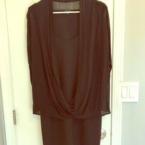 All saints black dress never worn